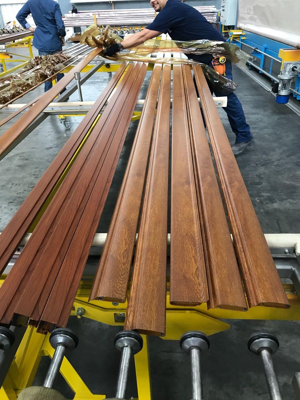 Carpinteria Aluminio Simil Madera